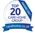 Top 20 Care Homes Group Award 2021