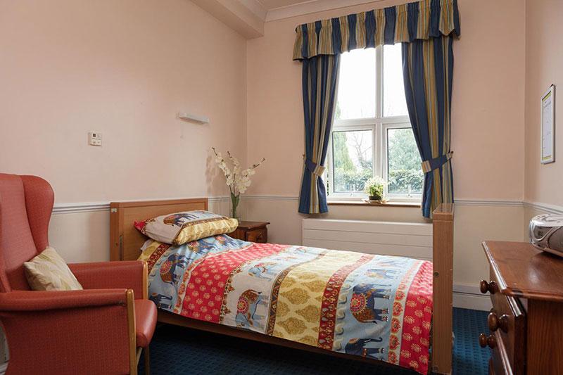 Lukestone Residents Bedroom