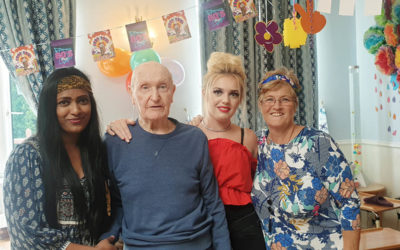 Getting in the groove at Lukestone Care Home