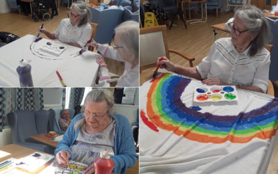 Keeping spirits up at Lukestone Care Home