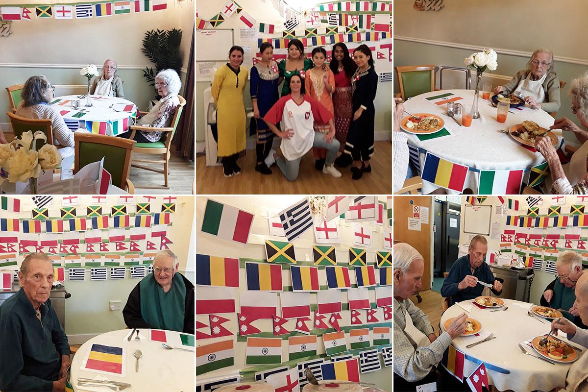 Lukestone Care Home residents celebrate World Food Day