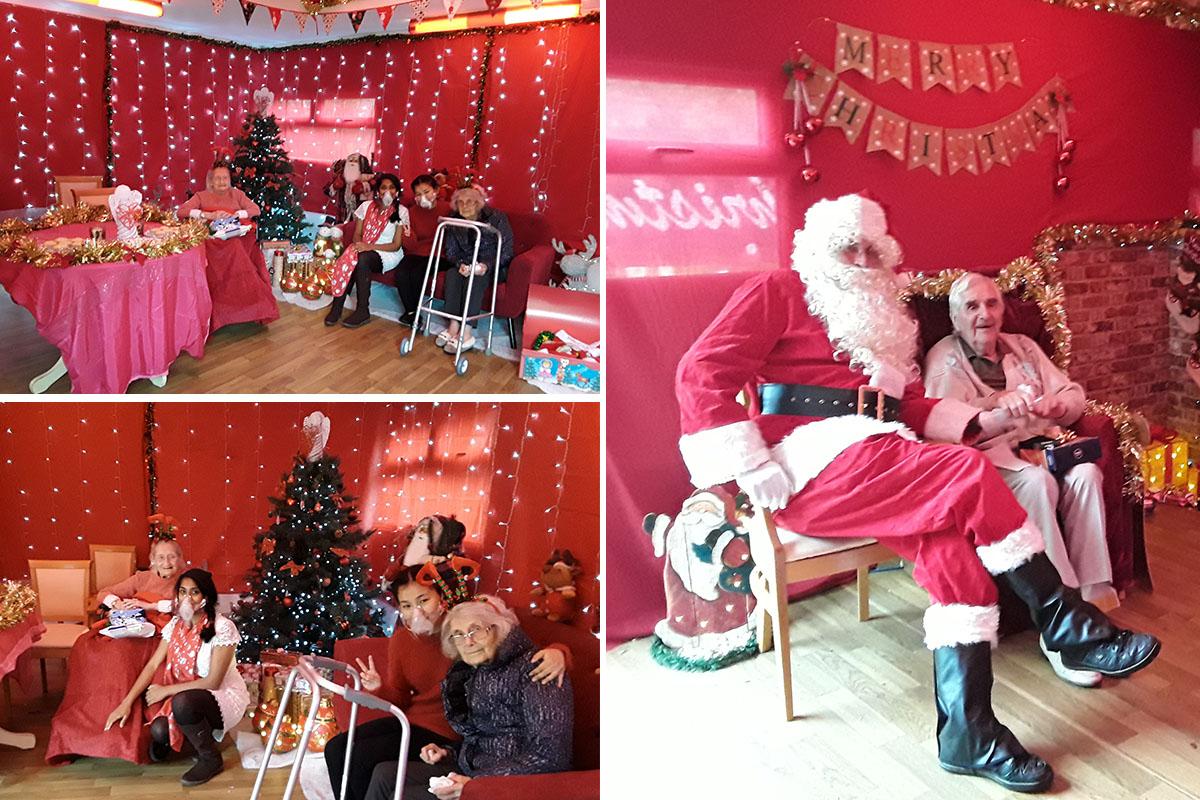 Christmas festivities arrive at Lukestone Care Home
