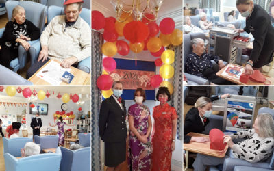 Lukestone Care Home residents enjoy their trip to Hong Kong