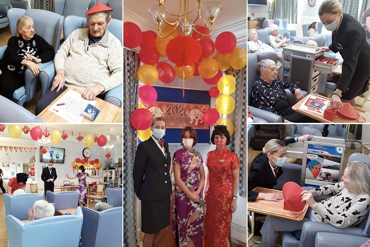 Lukestone Care Home residents enjoy their trip to Hong Kong