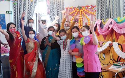 Lukestone Care Home residents enjoy their Cruise to India