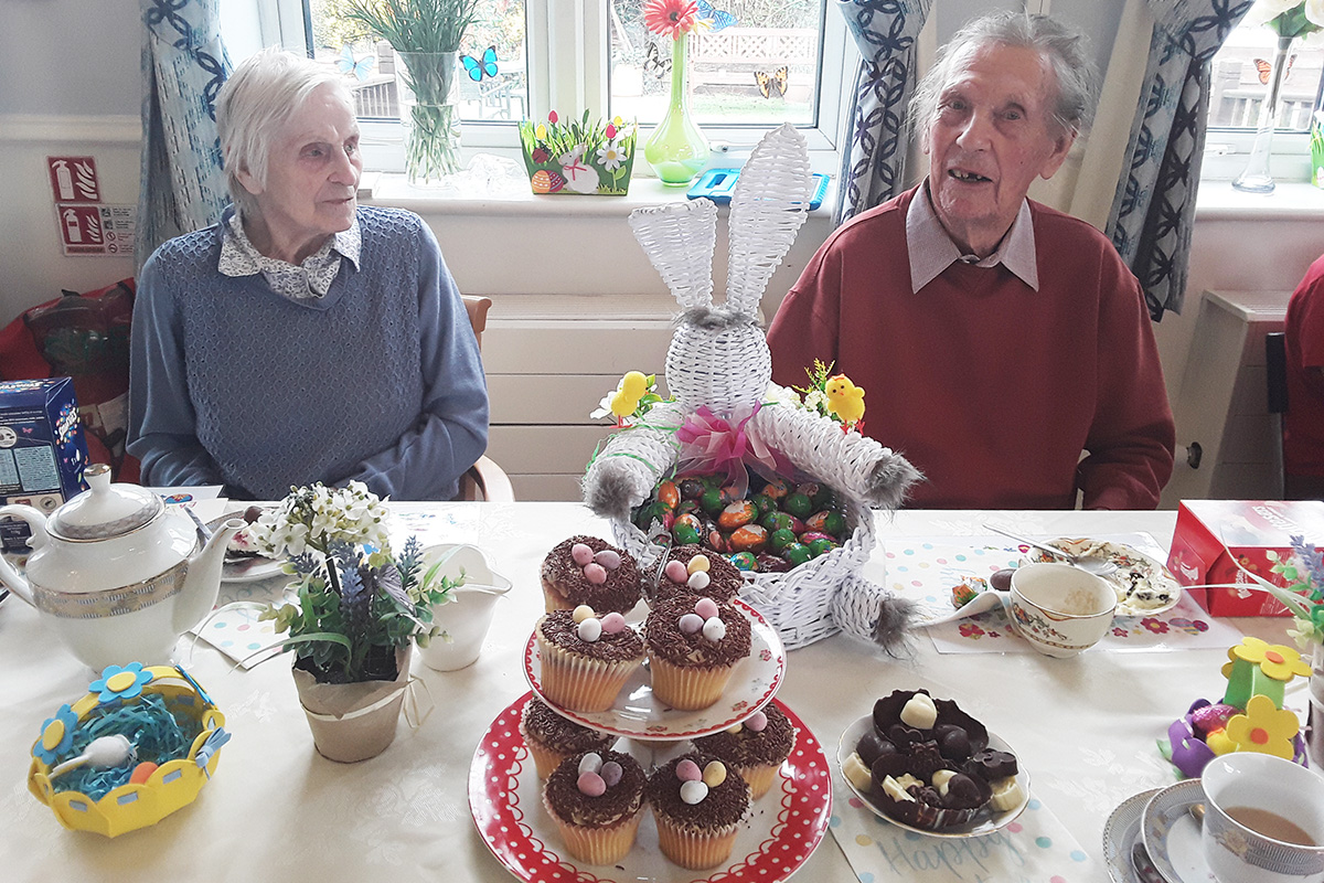 Celebrating Easter at Lukestone Care Home